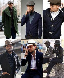Mũ thời trang cho nam