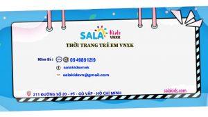 Xưởng may quần áo trẻ em Sala Kids